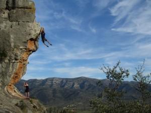 Erster Klettertag