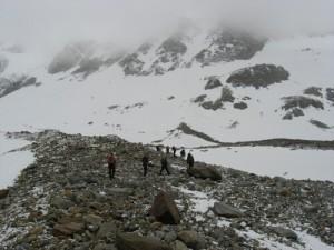 Gletscherzustieg