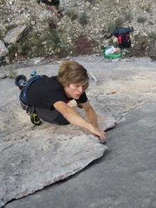 Marco klettert